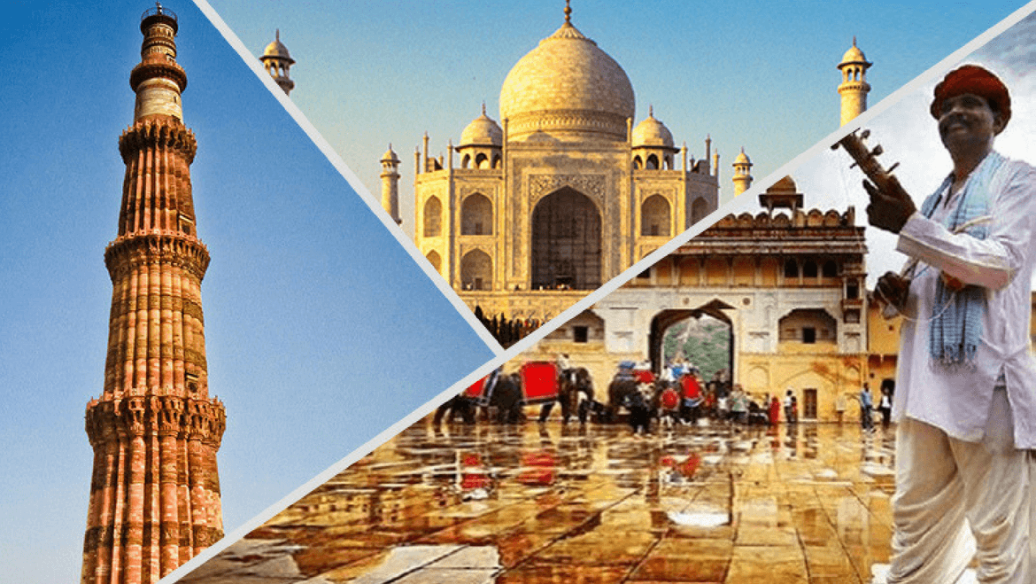 Golden Triangle Tour Package- 6 Night/7 Days