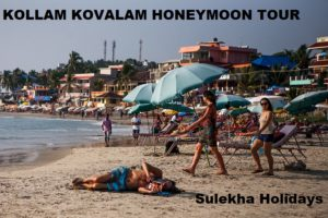 KOLLAM KOVALAM HONEYMOON TOUR