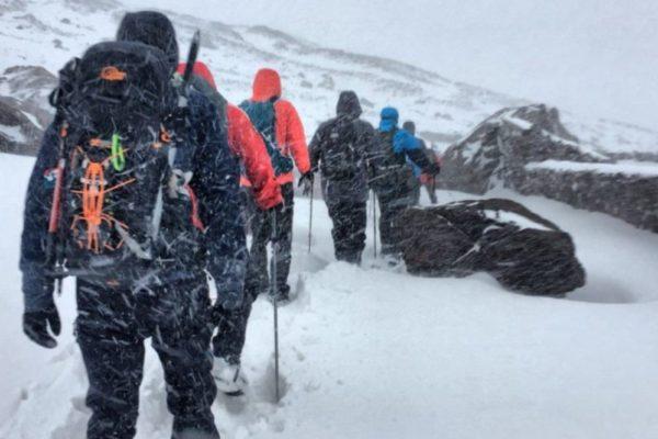Morocco Snowfall