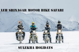 LEH SRINAGAR MOTOR BIKE SAFARI