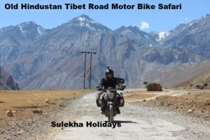Old Hindustan Tibet Road Motor Bike Safari