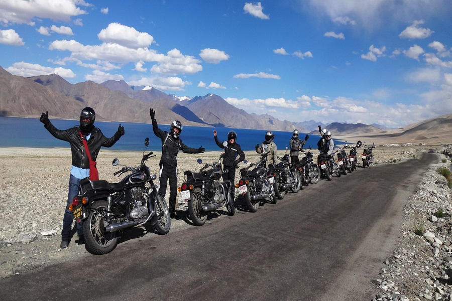 Old Hindustan Tibet Road Motor Bike Safari